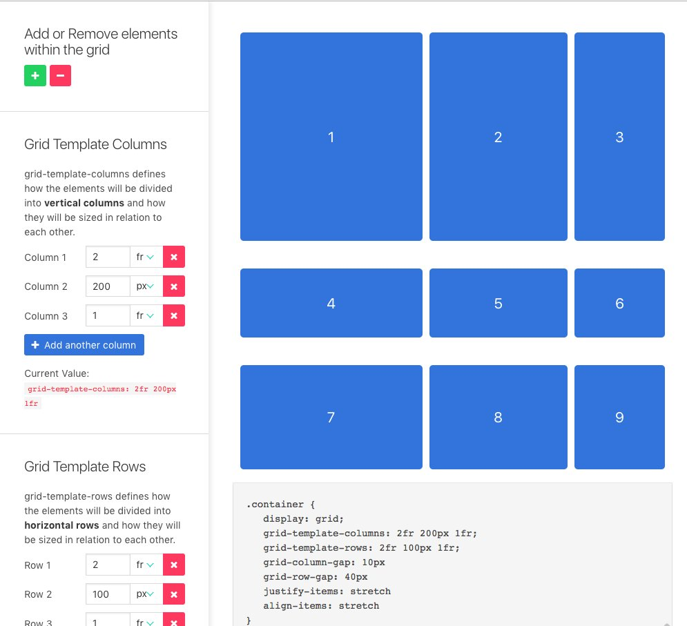 Griddy looks like a helpful tool for learning CSS Grid visually! https://t.co/4JUBmhuB79 https://t.co/JigJUXfGMJ
