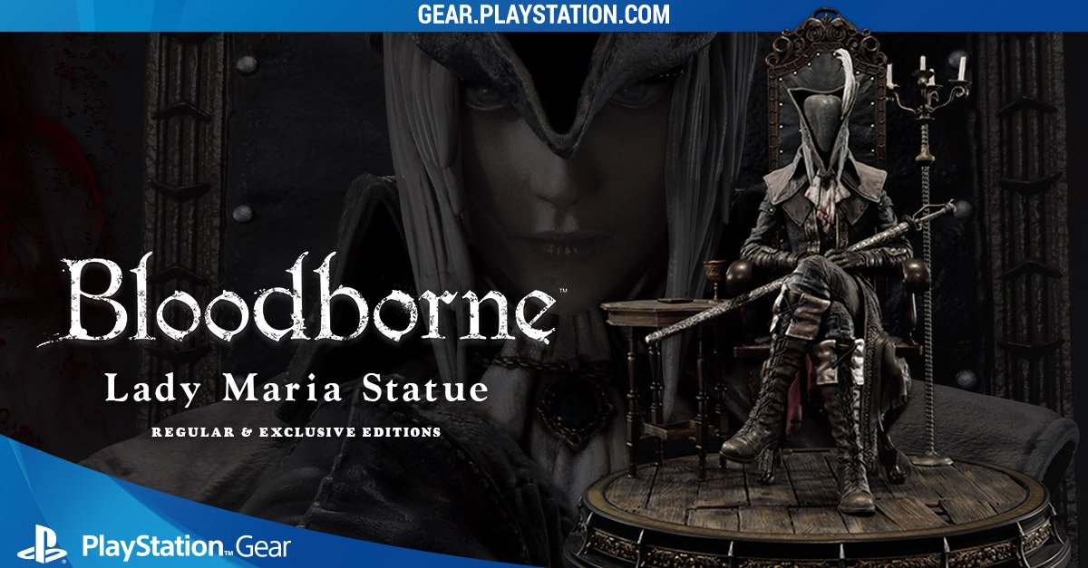 bloodborne playstation gear