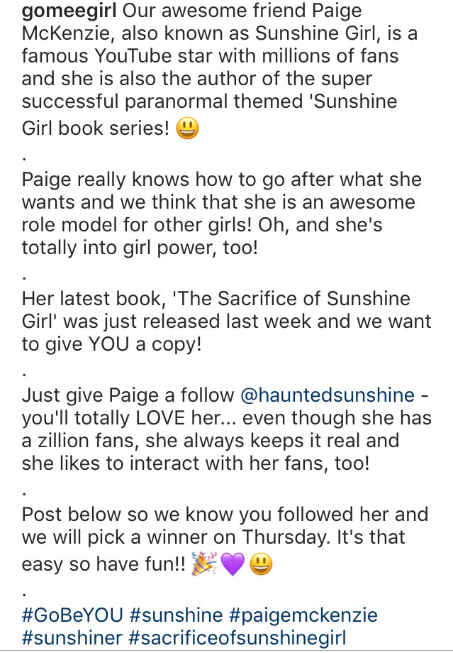 Paige Mckenzie On Twitter Over On Instagram You Can Win A Copy Of