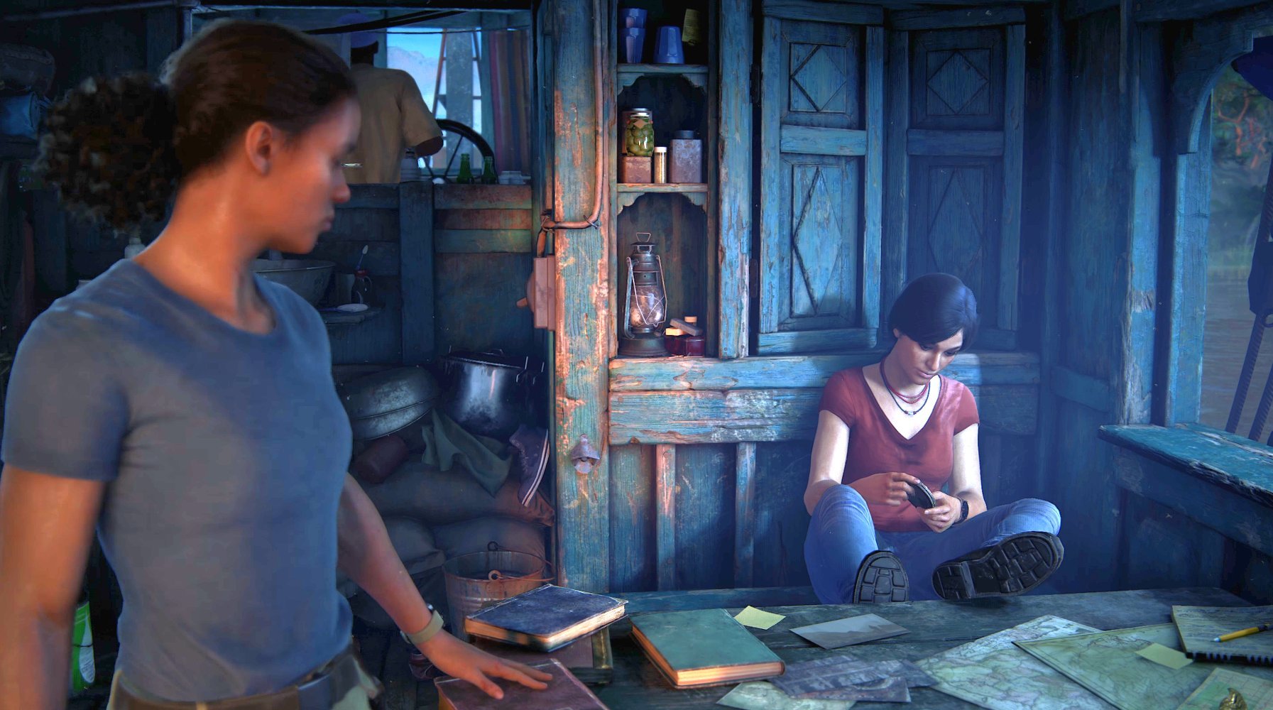 Uncharted: The Lost Legacy – Riverboat Revelation Cinematic Trailer