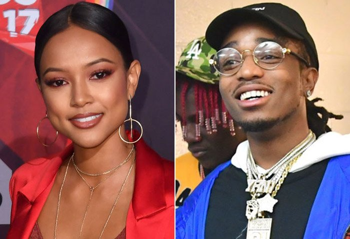 New couple alert: Karrueche and Quavo are reportedly dating https://t.co/zmjE4Ur7hH
