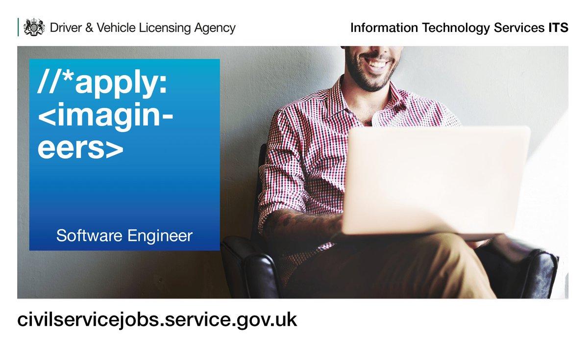 dvla on twitter database engineers help us build world class digital services apply now jobs in swansea bristol swindon httpstcouwbged1j9c