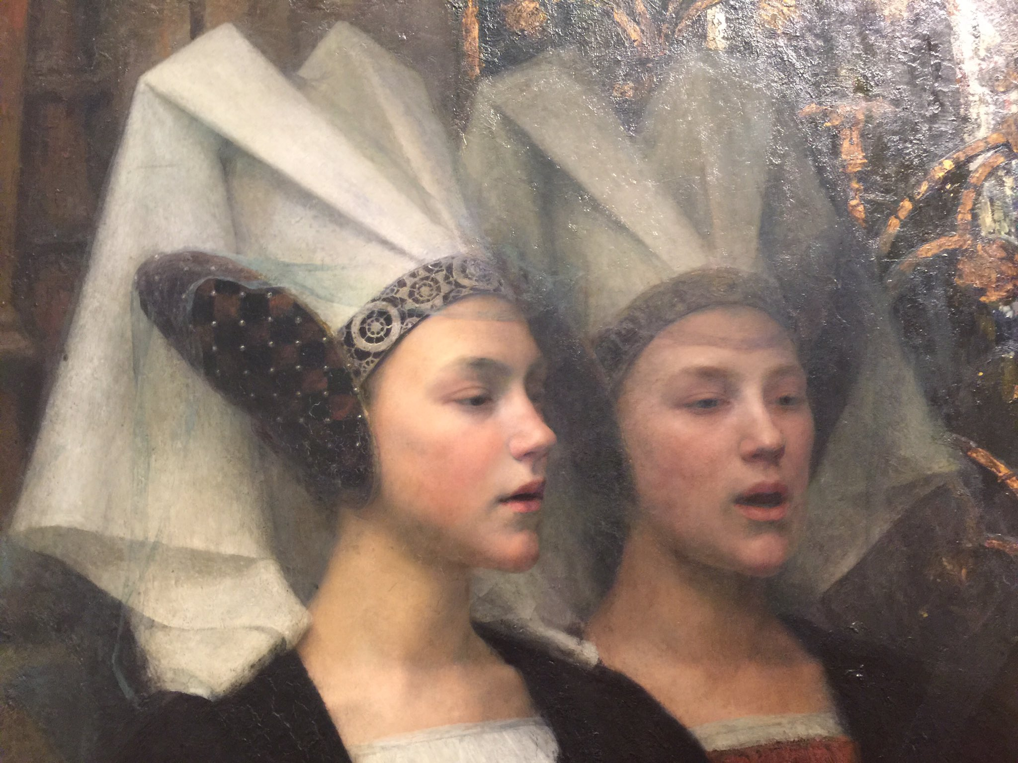 Detail from 'The Book of Peace', Edgard Maxence, 1913