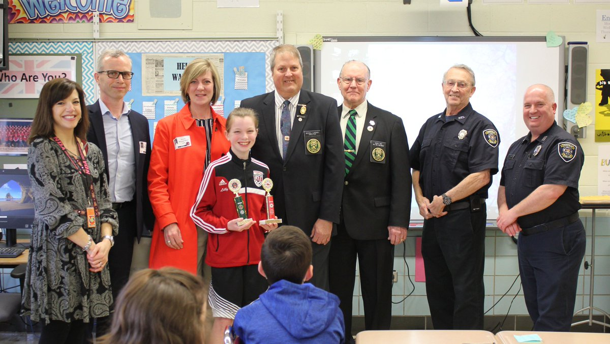 penfield csd penfieldcsd  this talented scribner 5th grader also was awarded second place in all of western new york for her fire prevention essay congratulations pic com