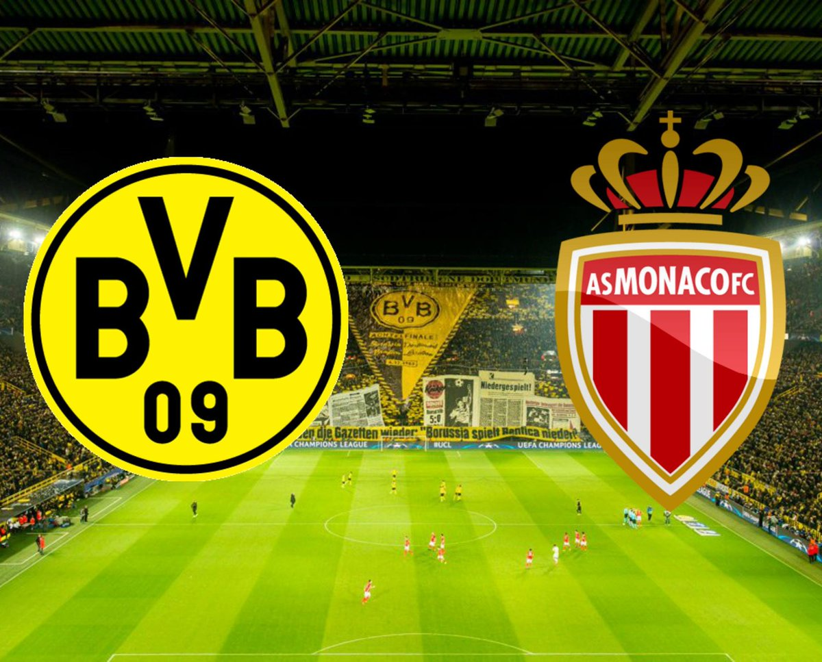 Vedere BORUSSIA DORTMUND MONACO Streaming Rojadirecta OnLine: Diretta TV LINKS Video Gratis Champions League