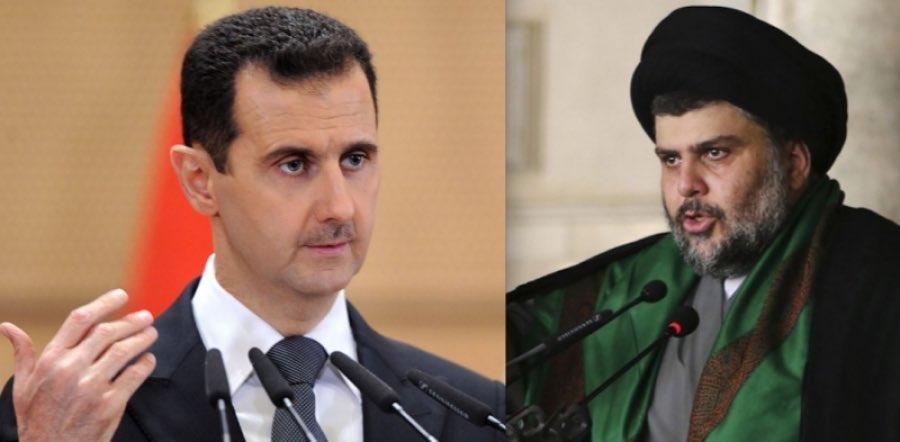 Iraq's Muqtada al-Sadr warns Syrian President Bashar al-Assad and says he will face the fate of Libya's Muammar Gaddafi if he does not resign.