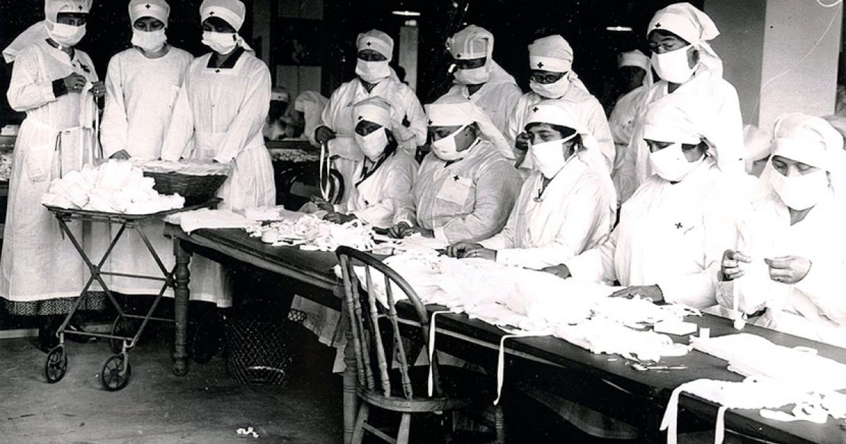 During 1918, the @RedCross was able to recruit 15,000 nurses to respond to the #flu #WWI #WWICentennial #Epidemic #Grippe #SpanishFlu<br>http://pic.twitter.com/9smKK0OvQX