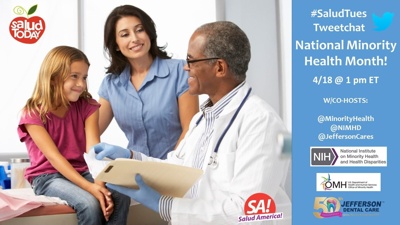 Thumbnail for #SaludTues - National Minority Health Month