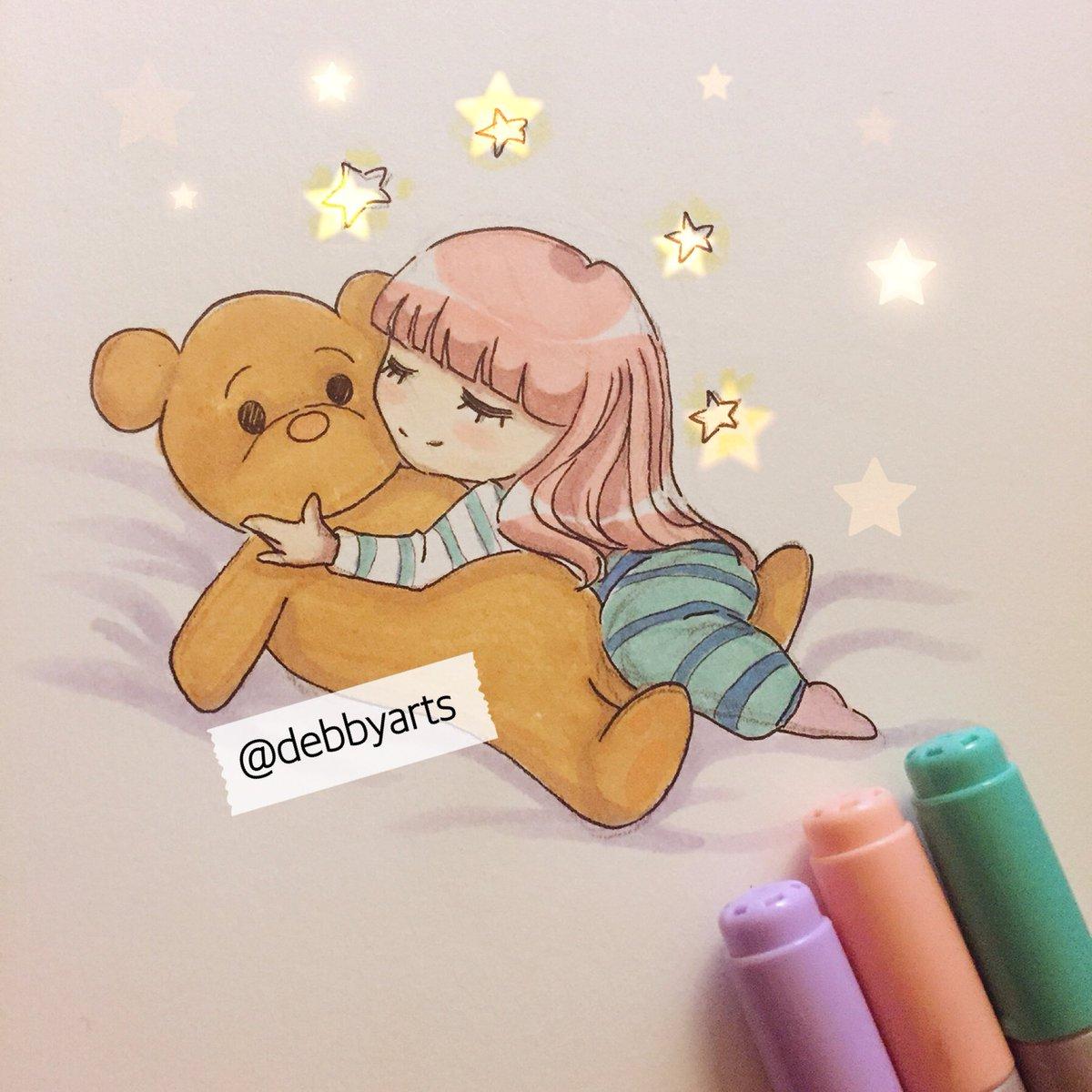 e b b y on twitter night debbyarts drawing art