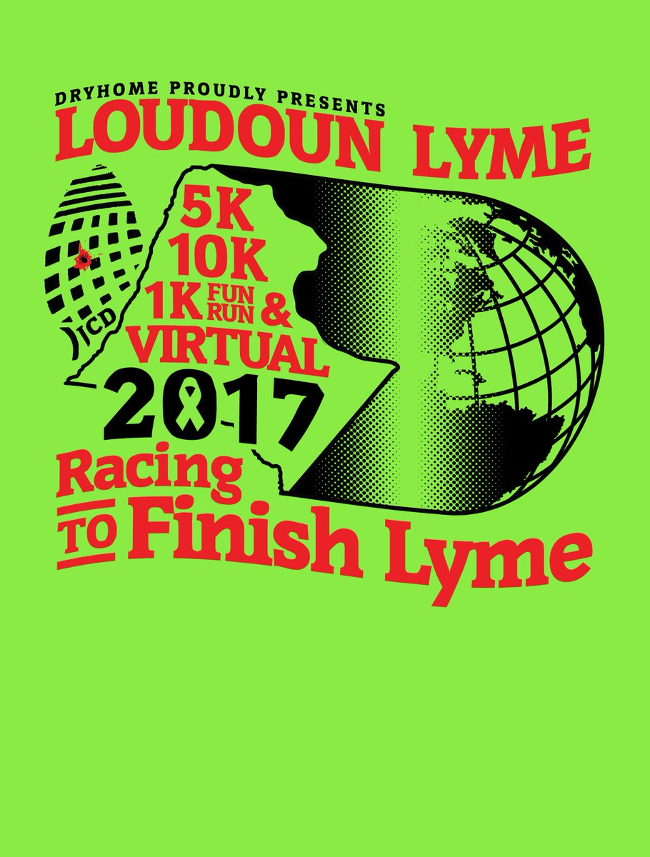 Natcaplyme On Twitter New T Shirt Design 4 Loudoun Lyme 10k5k1k