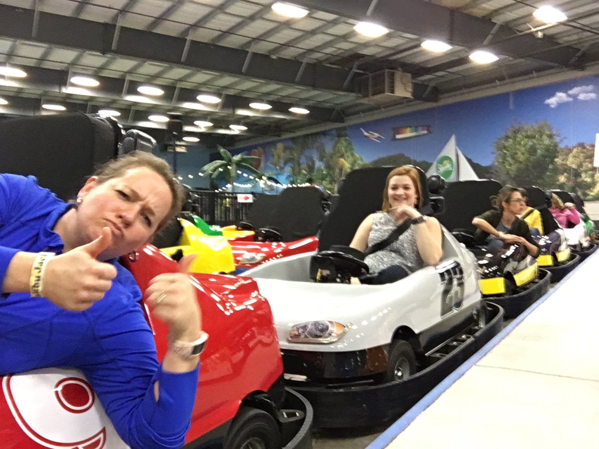 James from @EminenceSchools Our last school-wide PD (go-carting included) #kylchat https://t.co/moNS13cazH