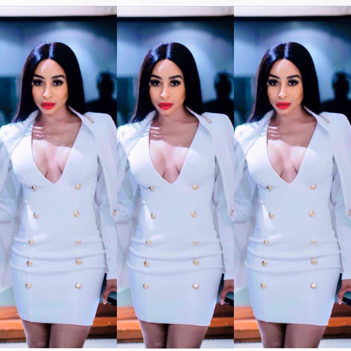 Cleavage Khanyi Mbau nude photos 2019