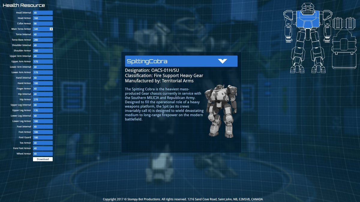 Heavy gear assault on twitter we have published a steam guide a steam guide and updated the trm app with the new support gears blueprint mech customization httpstrlby0kktyn httpst p5rmn2n4ql malvernweather Gallery