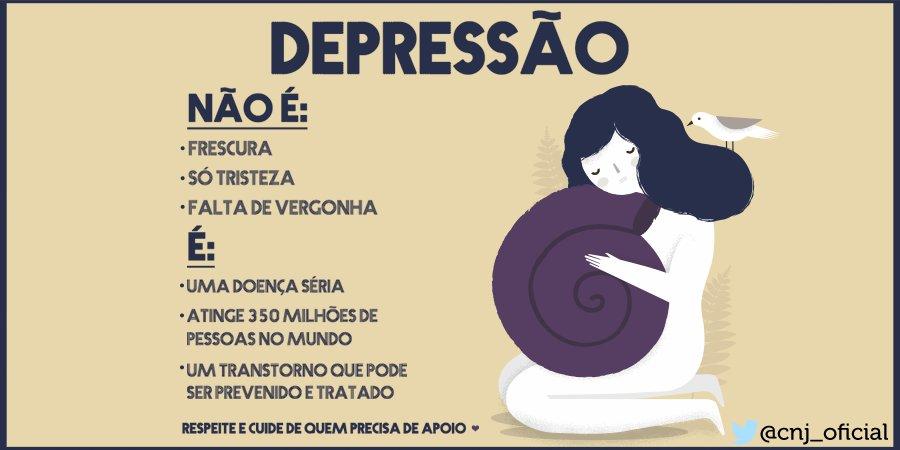: #Depressão é doença séria. Você não está sozinho, procurar ajuda não é sinal de fraqueza  #Disque141