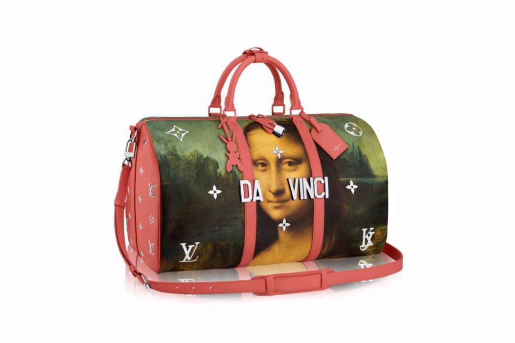 My favorites from the Jeff Koons x Louis Vuitton collaboration.