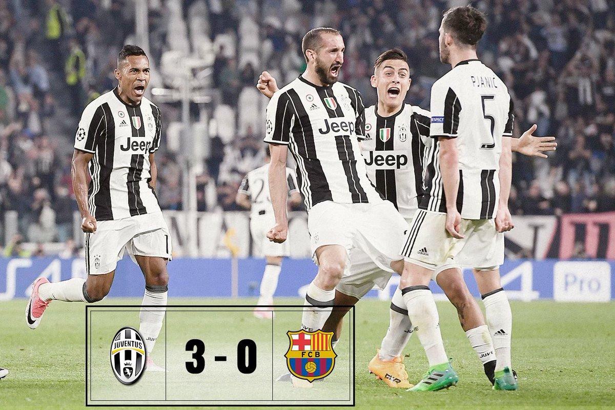 Stephan Lichtsteiner On Twitter Juventus Vs Barca 3 0 Crediamoci Glauben Wir Dran We Believe In It Finoallafine Forzajuve