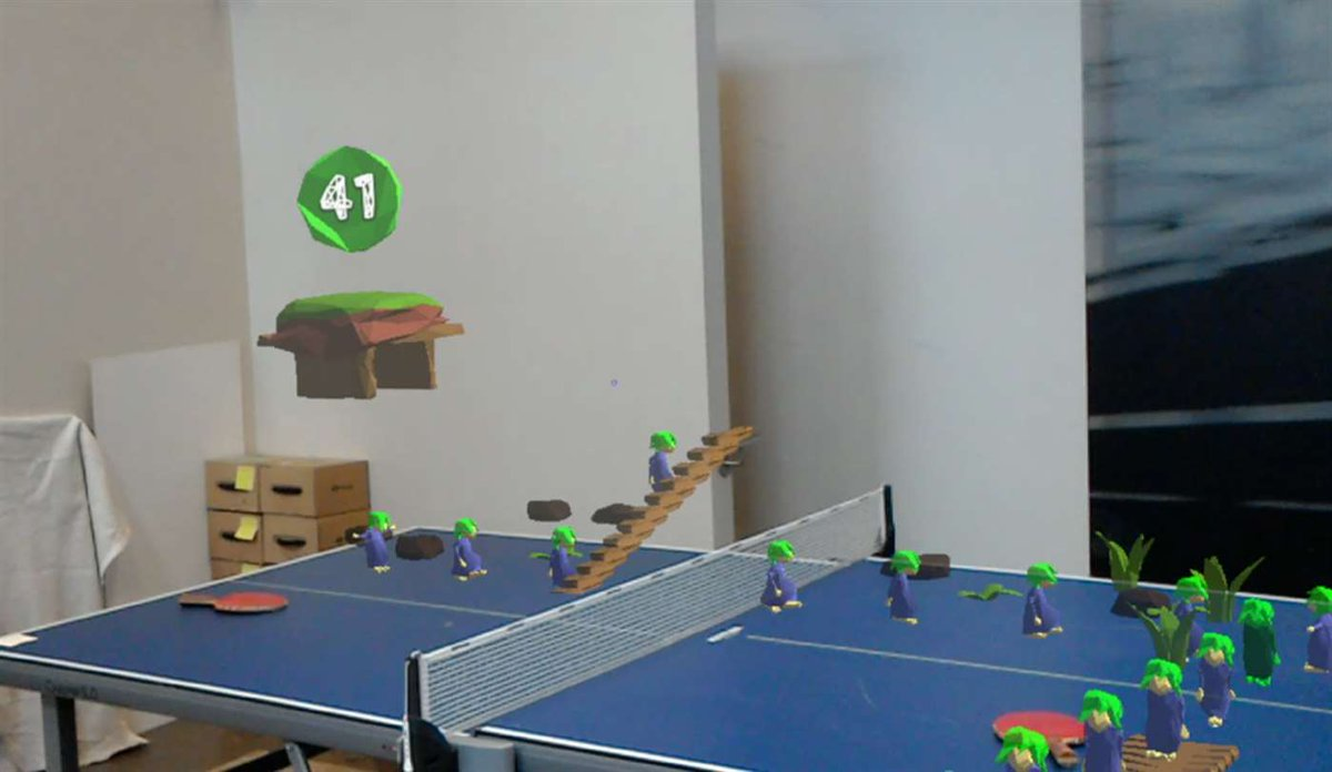 'HoloLems' Makes Your Room into a 'Lemmings' Level with HoloLens – Road to VR