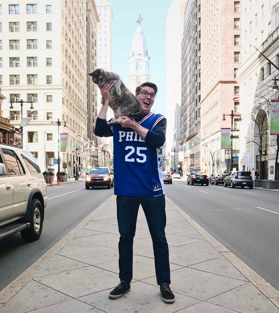 Paying homage to a @Sixers season which had a lot of downs, yes, but also a lot of... ups. cc @GipperGrove #RaiseTheCat #Sixers #76ers