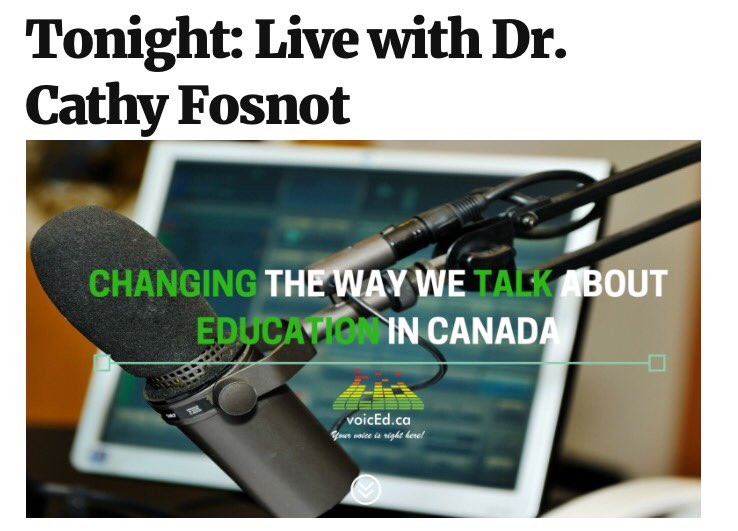 Congrats to the more than 250 teachers choosing to learn w Dr Cathy Fosnot on behalf of students #notabookstudy #onted #RMSOntario https://t.co/m68807VxmO