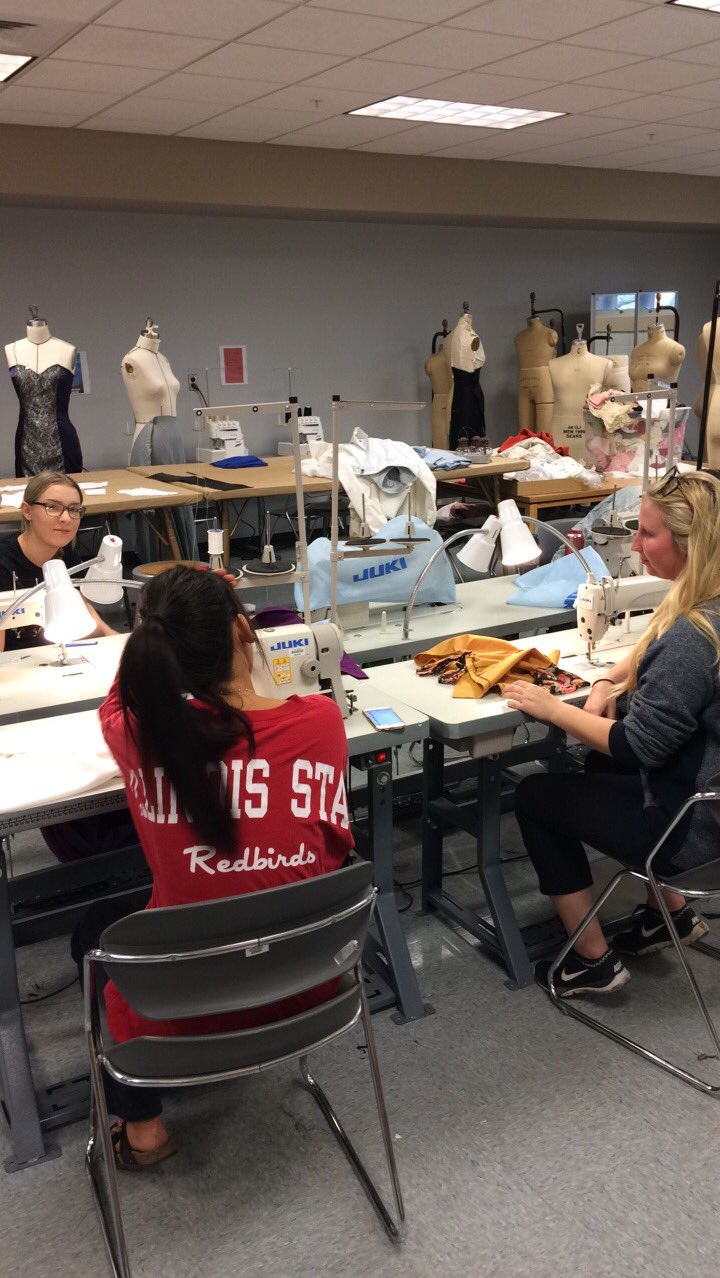 Thanks to @ISUFCS I get to spend my time with some of the most creative and strategic thinkers #fashun #fashiondesign #redbirdsetgo https://t.co/vhMyvAIScf