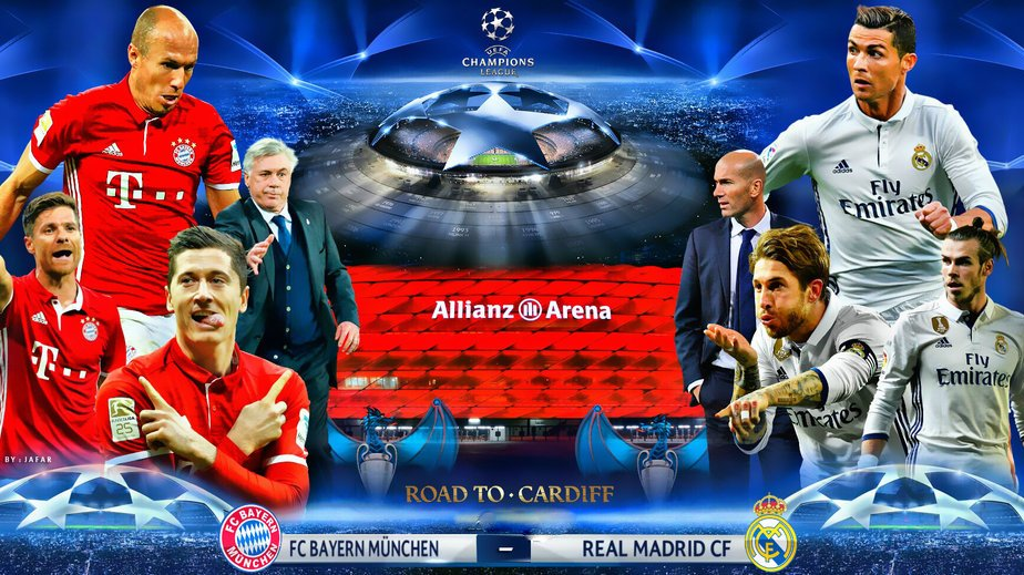 BAYERN MONACO REAL MADRID Streaming Rojadirecta: vederla gratis Video Online oggi 12 aprile 2017