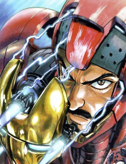 Yusuke Murata Iron-Man