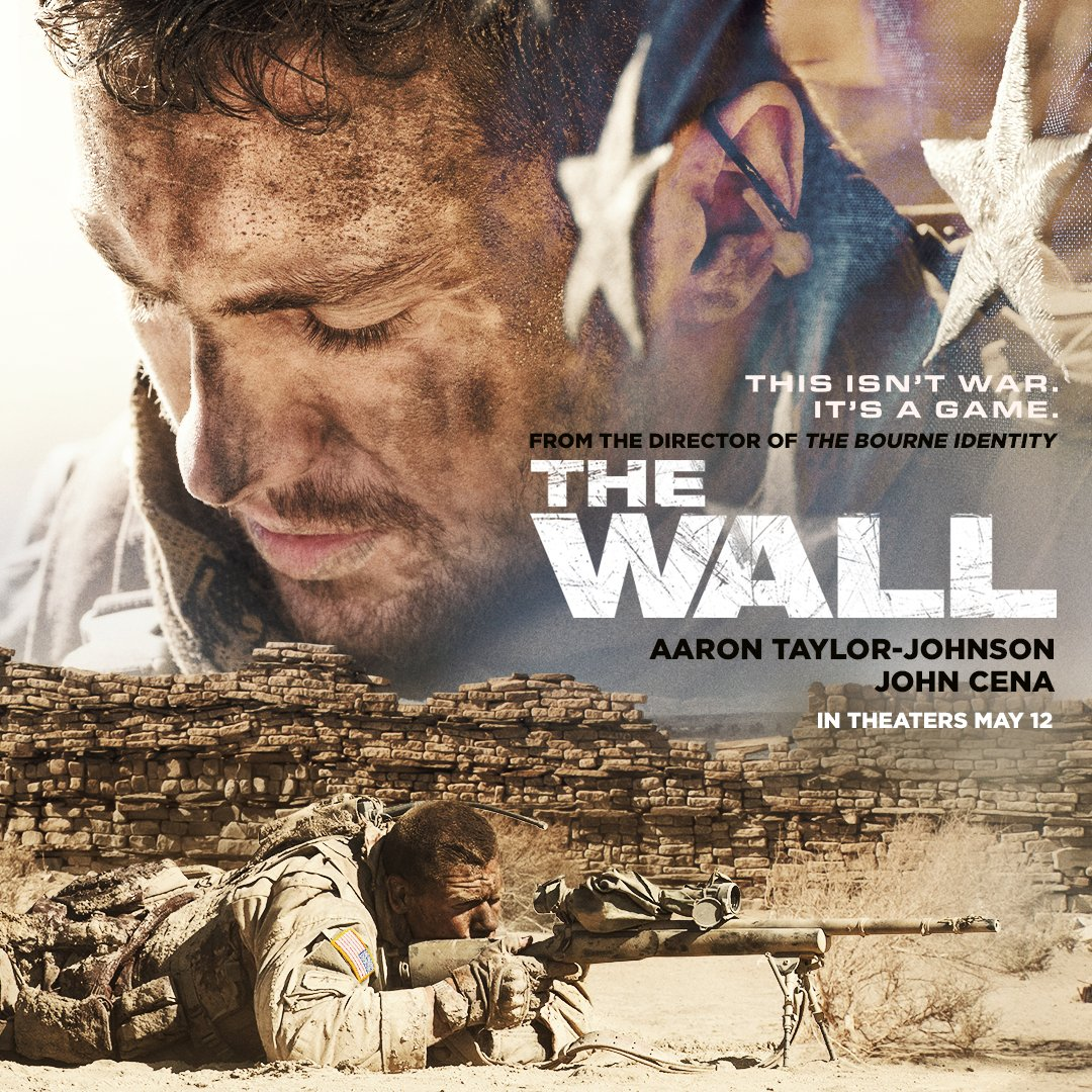 Image result for the wall  movie poster john cena