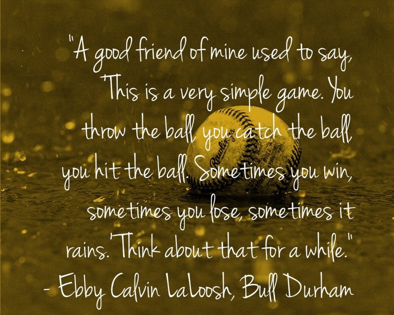 Bull Durham Quotes Inspiration Michelle On Twitter Bulls Win With That I Leave You With My