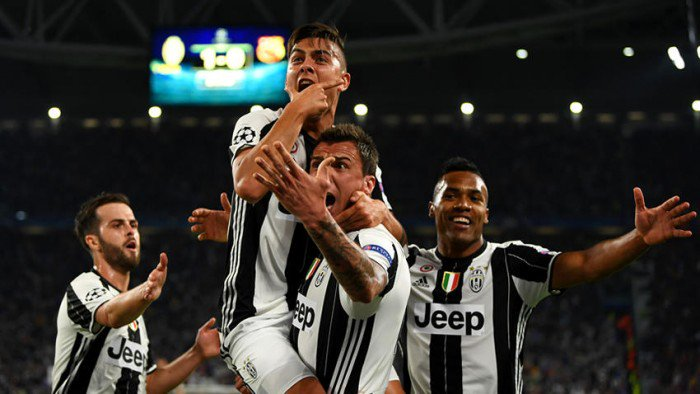 Juventus Barcellona 3-0 Highlights