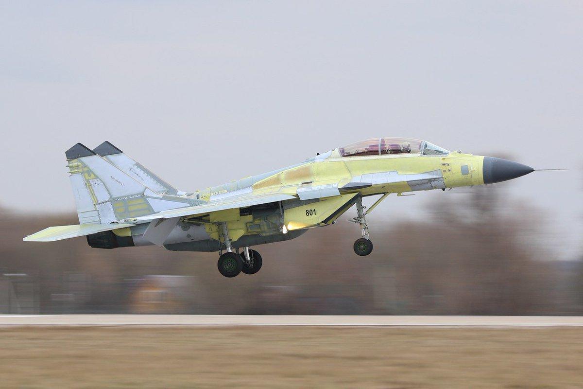 """روسيا ملتزمة بعقد بيع مقاتلات """"ميغ 29"""" إلى سلاح الجو المصري C9M54TFXoAItEyK"""