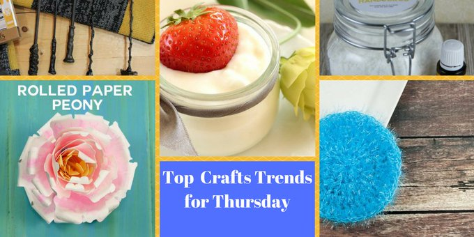 Top Trending Projects for Friday #crafts #DIY