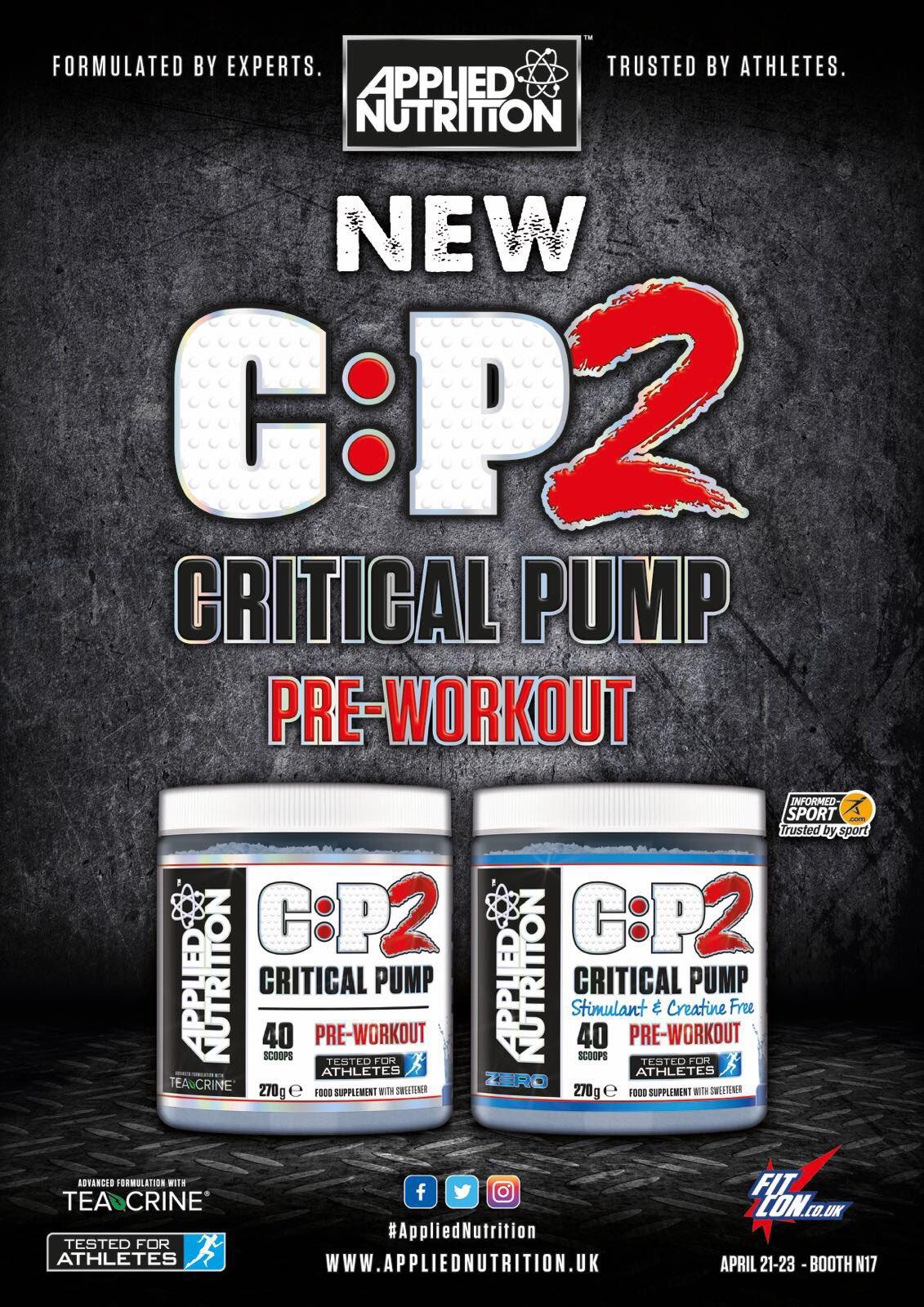 Znalezione obrazy dla zapytania applied nutrition c:p2 critical pump