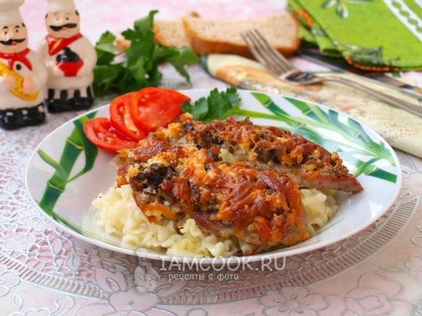Рецепт блюд из говяжьей печени