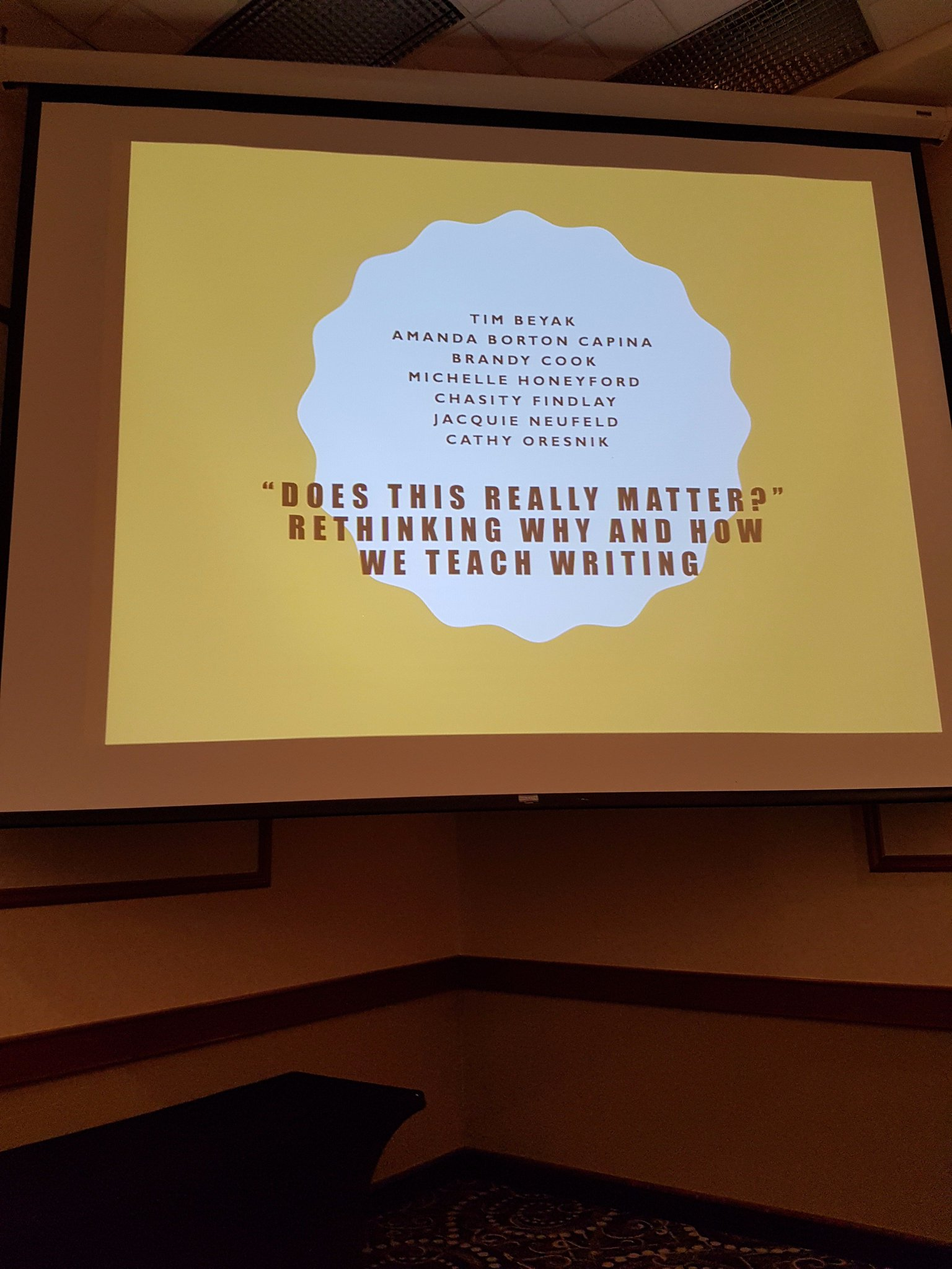 Thrilled to be presenting at the MRA summit! Rethinking how and why we teach writing. #mrasummit @mra_mb @tyndallparkWSD https://t.co/5zfCw2IXk7