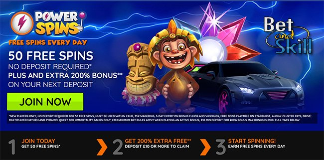 Powerspins Casino No Deposit Free Spins