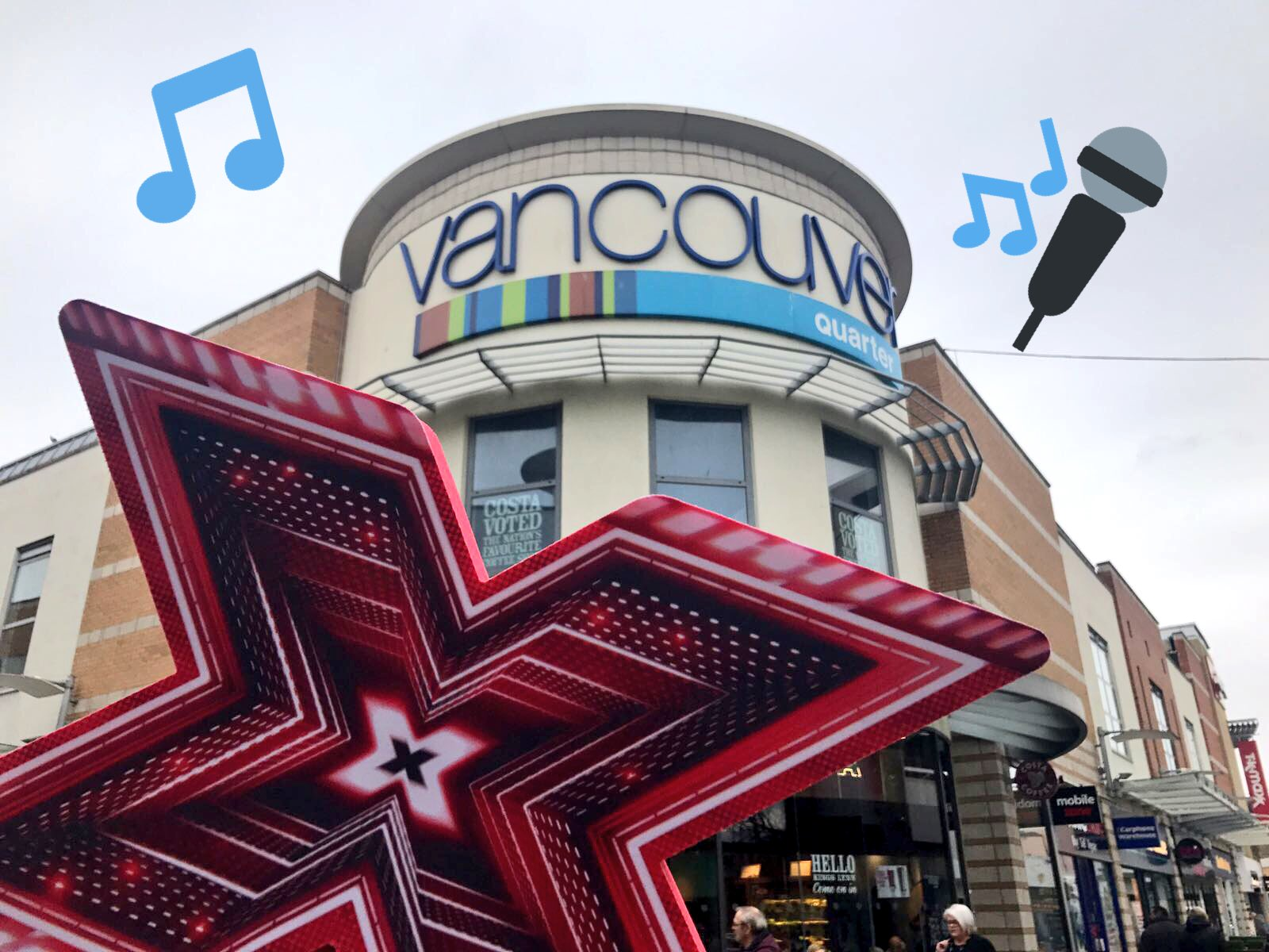 King's Lynn, #XFactor auditions have arrived! 🎤 If you're aged 14 or over, get to Vancouver Quarter until 5pm today! https://t.co/CbEaQAqdJn