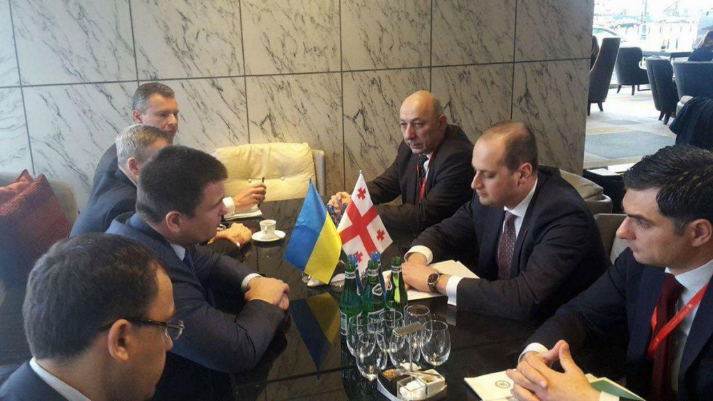 Ukraine and Georgia agreed on a position regarding the Eastern Partnership and the further countering of Russian aggression