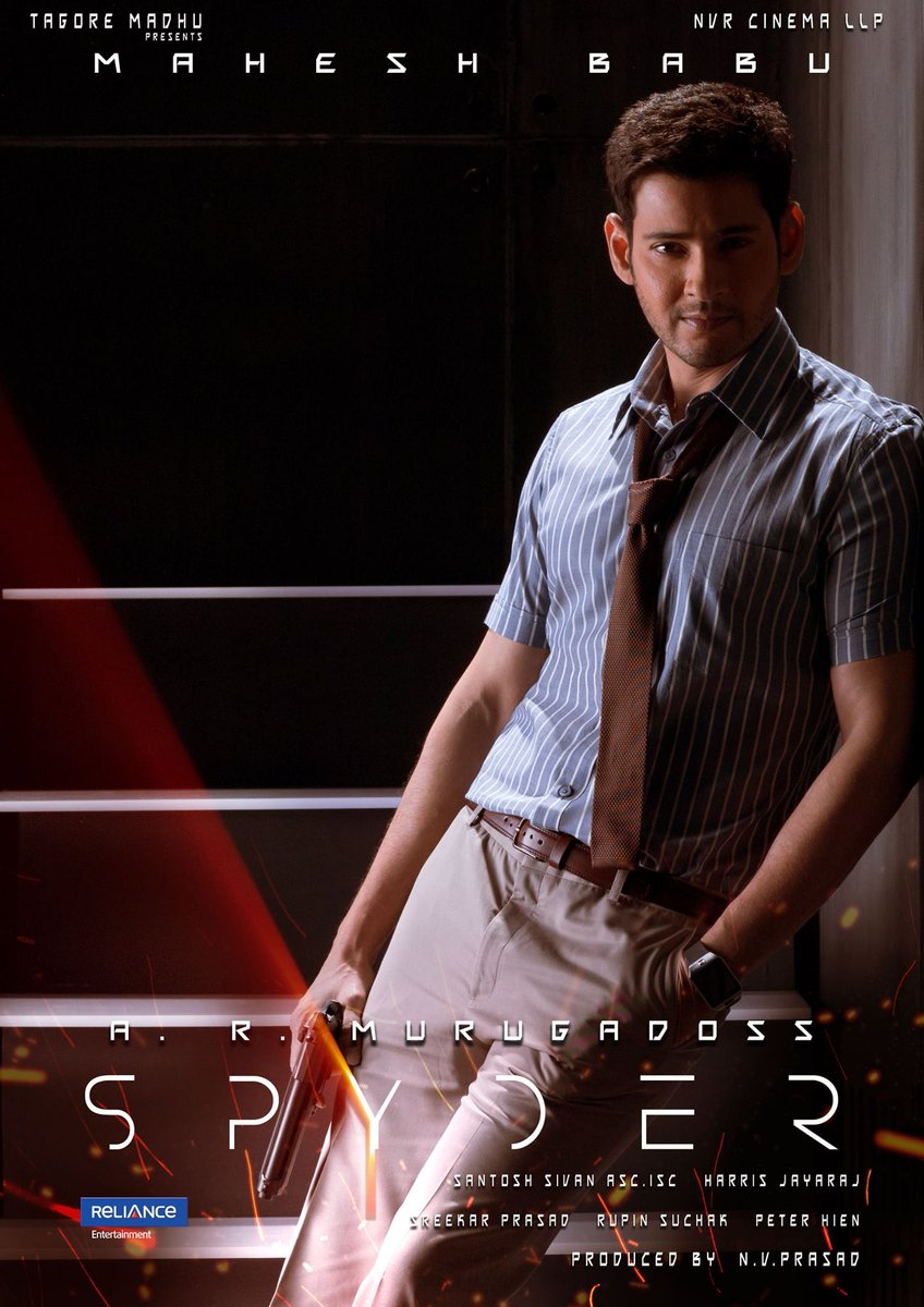 #SPYder :) @spyderthemovie https://t.co/iYacntoqup