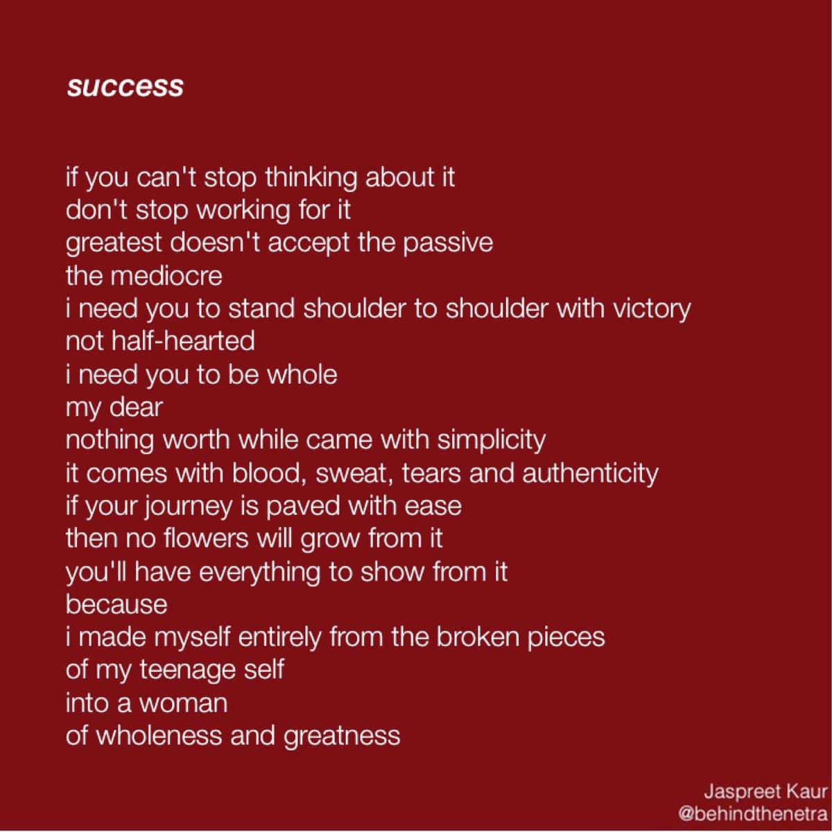 Jaspreet Kaur On Twitter Success Success Drive Motivate