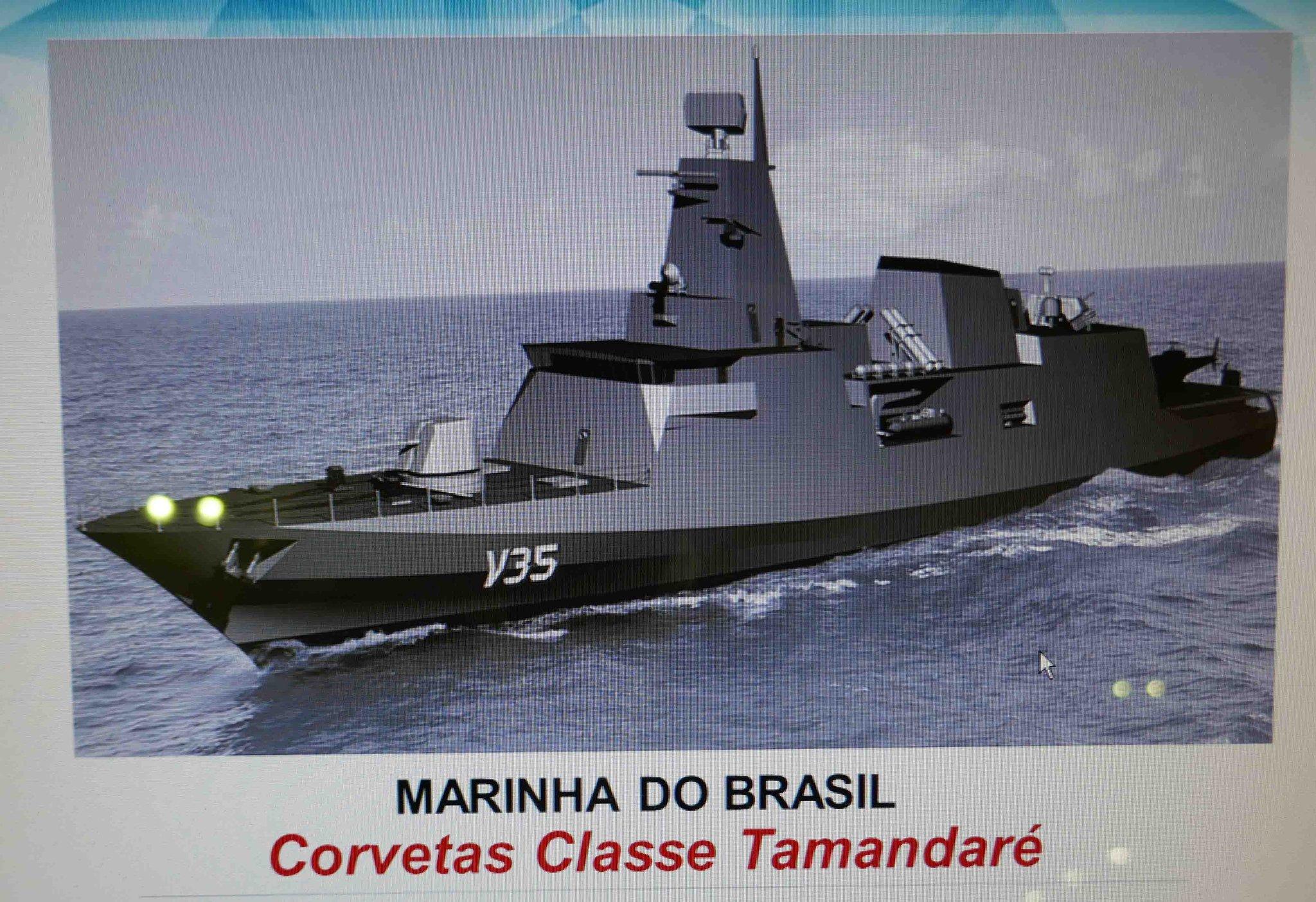 "Tim Fish On Twitter: ""Brazil Navy's Tamandare-class"