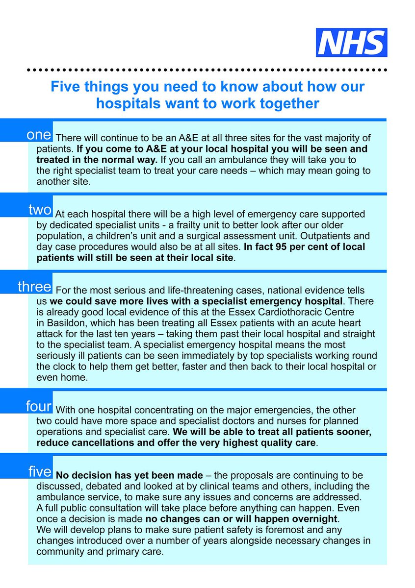 basildon hospital basildonhosp twitter 5 things you need to know about how our hospitals want to work together broomfieldnhs southendnhs basildonhosp successessexpic twitter com pgwlhnft3c
