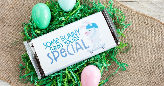 Easter Candy Wrapper Printable