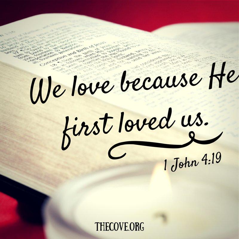 We love because He first loved us.  1 John 4:19  #Jesus https://t.co/D2ZFIVBkrI
