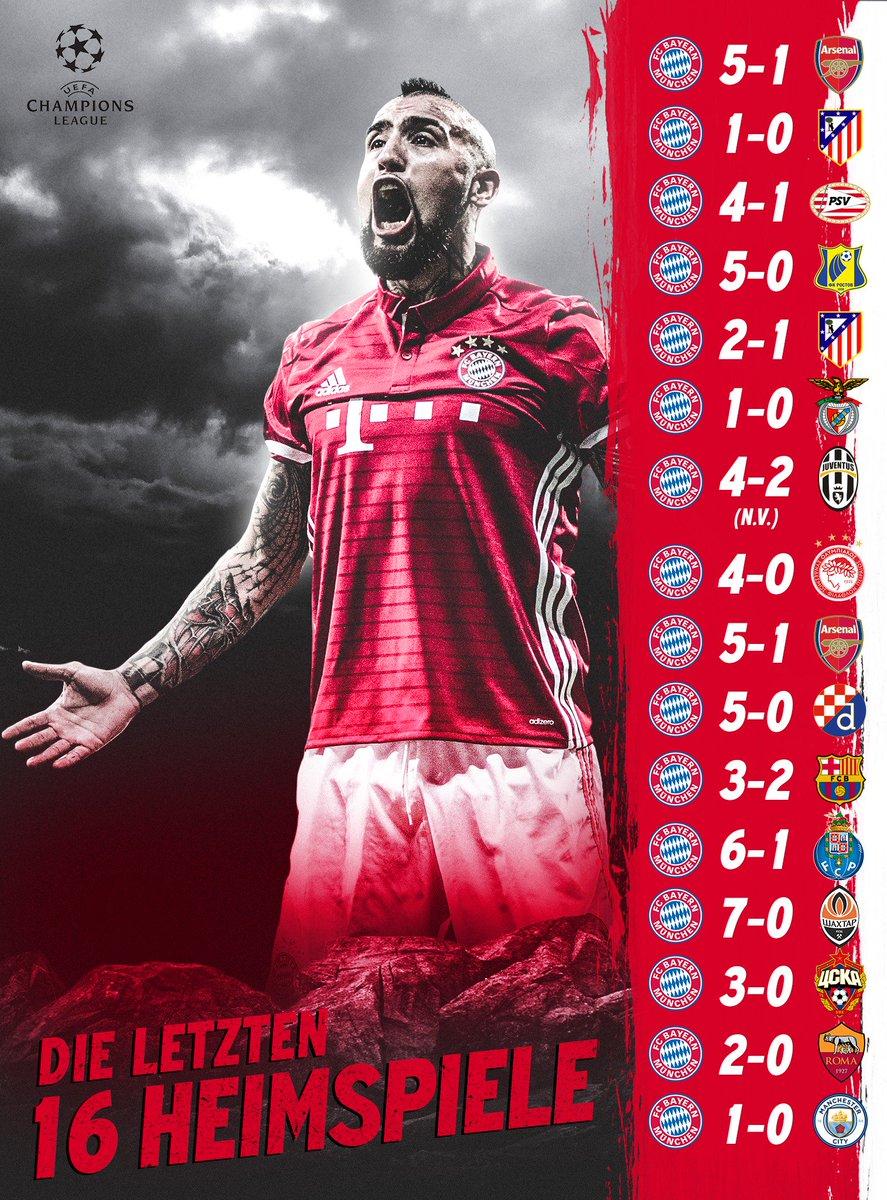 Wir ❤ @ChampionsLeague-Heimspiele in der #AllianzArena! #packmas #FCBRMA