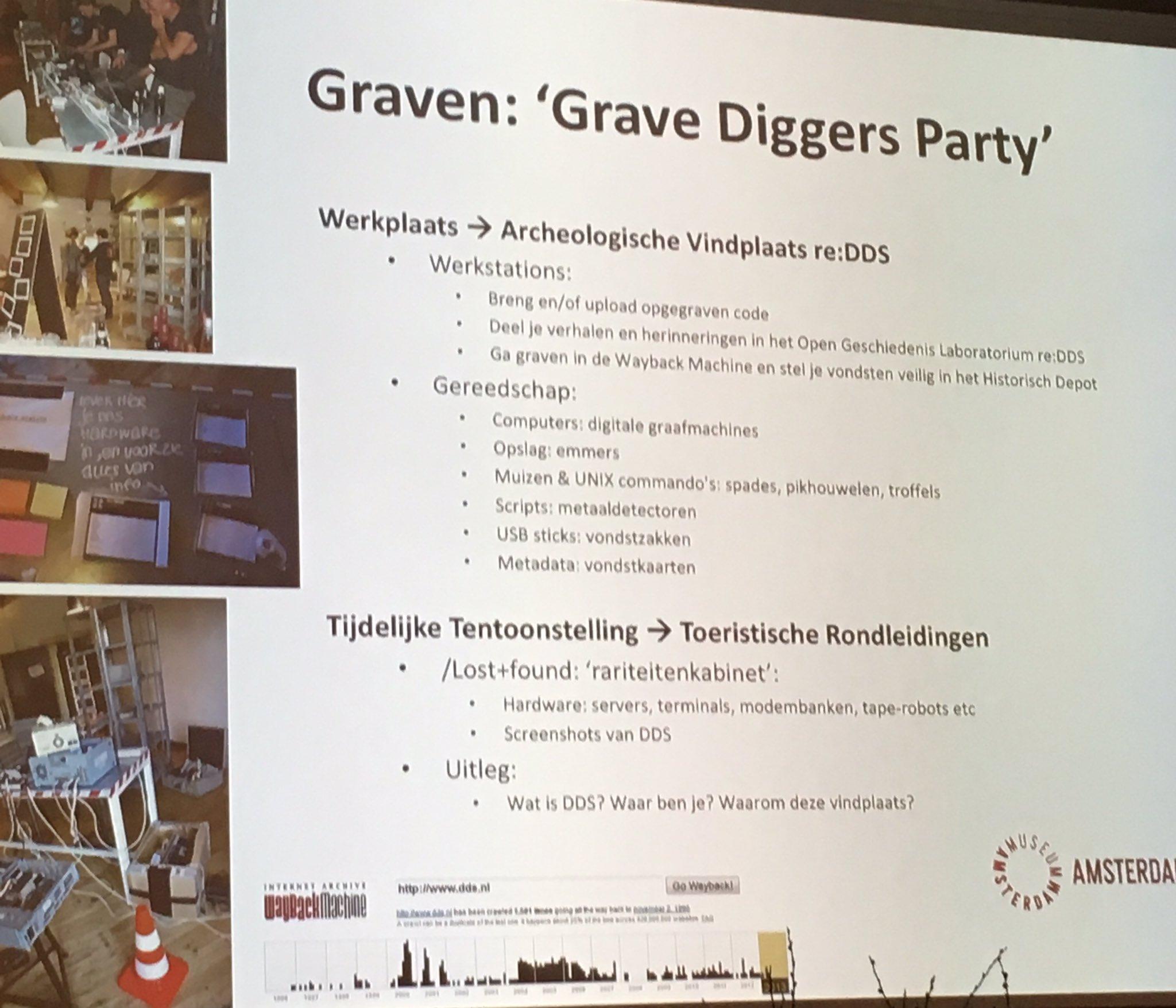 Graven naar digitaal erfgoed #17wde @info_NCDD https://t.co/ZxfVt1XDmv