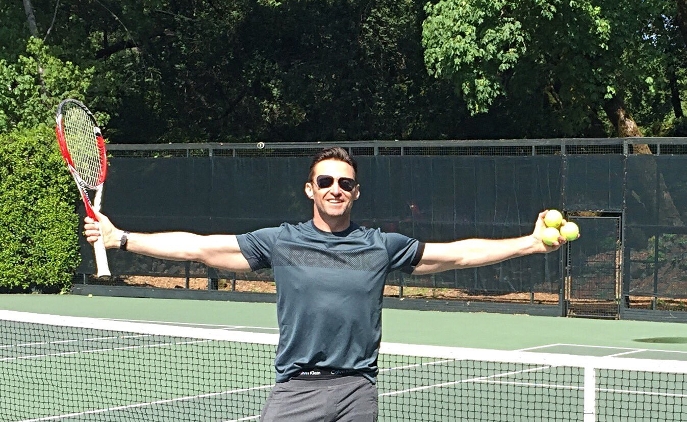 Tennis anyone? And by anyone- I mean you @DjokerNole ! https://t.co/gwOCDbBlK3