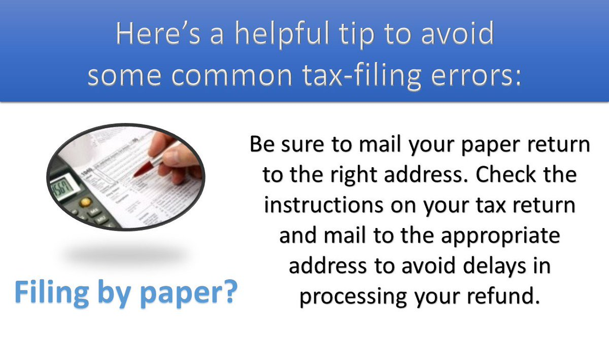 Ildeptofrevenue On Twitter Filing By Paper Be Sure To Mail Your