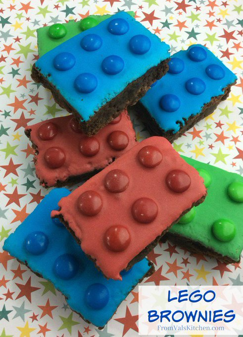 Lego Brownies #Recipe