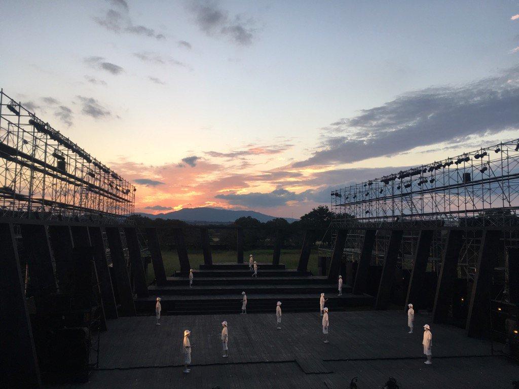 2016年の10月に、奈良・平城宮跡で上演した「アマハラ」が、台湾の高雄市でのフェスティバルに招へいされることが正式決定しました。 日程・会場などの詳細は、後日改めてお知らせします。 https://t.co/sGkavKuOmW