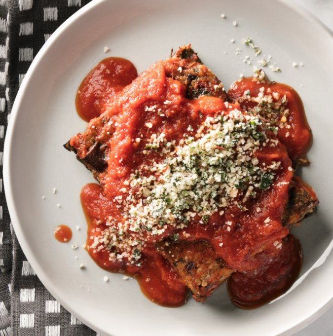 The eggplant parm, designed for desk lunch—our lighter and delicious twist on a classic. https://t.co/WB4CFsJZS3 https://t.co/27665bGWnn